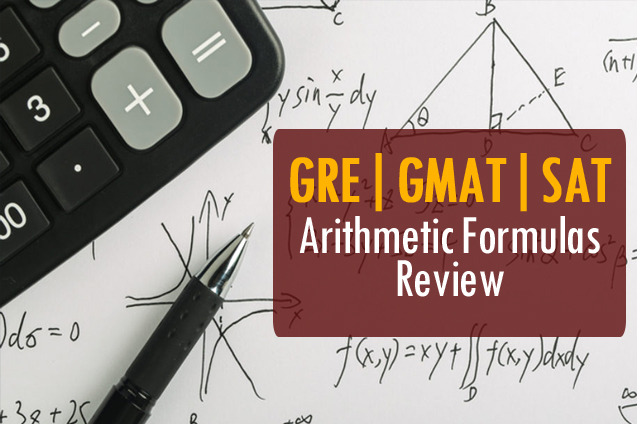 eduGMAT: Arithmetic Formulas Review