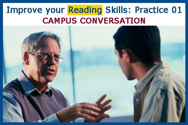 Improve your Reading Skills: Practice 01
