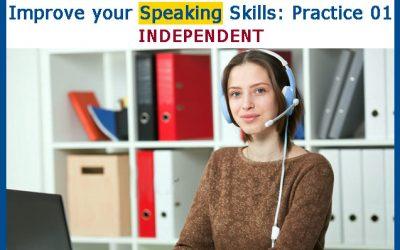 Mejore su Speaking: Práctica 01