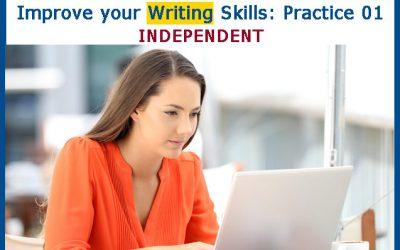 Mejore su Writing: Práctica 01