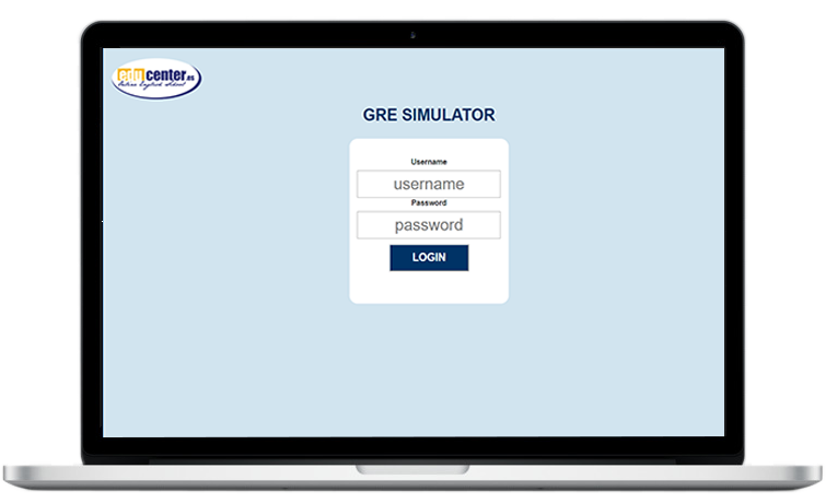 gre-simulator-login